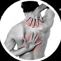 Upper, mid back pain